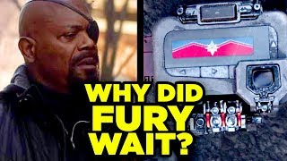 Avengers Captain Marvel Origin Revealed! Why Did Nick Fury Wait?