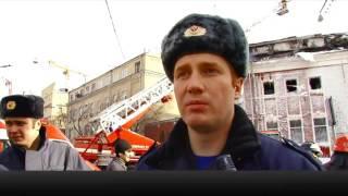 В Москве сгорел клуб «Опера», один человек погиб