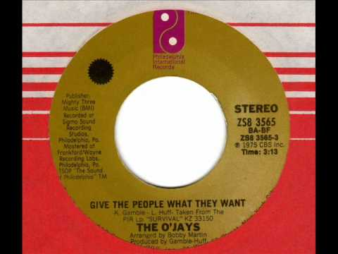 O'JAYS Give the people what they want
