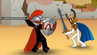 I am Archer! Хорошо прокачали стикменов! Clone Armies stickmen! Good Clone Stick War!