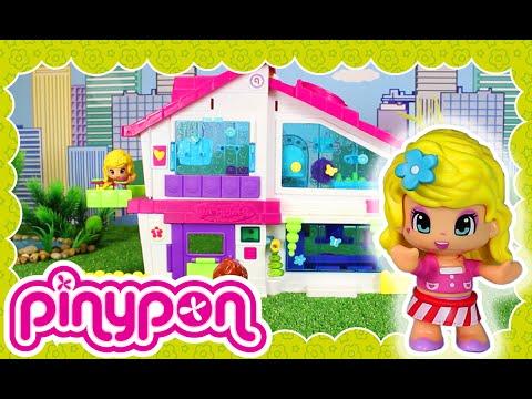 La Villa Pinypon al detalle ¡Los amigos visitan la nueva casa!