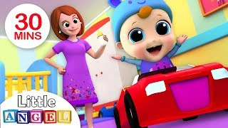 Yes, Yes It's Time For Bed | Bedtime Song | Nursery Rhymes by Little Angel