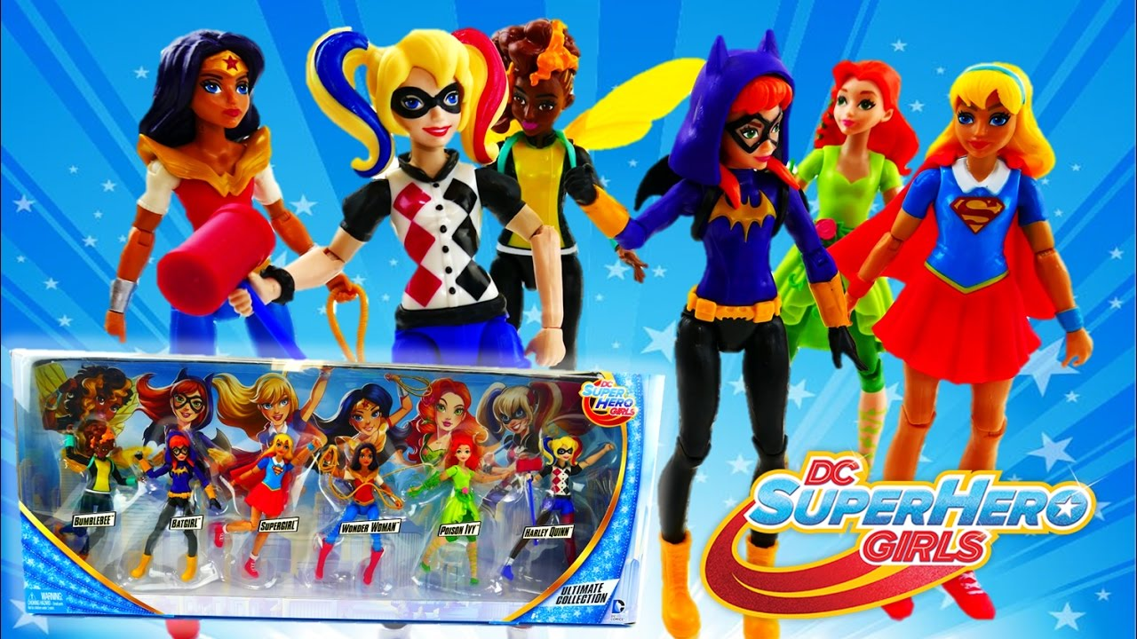 DC Super Hero Girls Ultimate Collection Dolls Review | Evies Toy House
