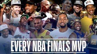Every NBA Finals MVP In League History   Michael Jordan, Kawhi Leonard, LeBron James And More!