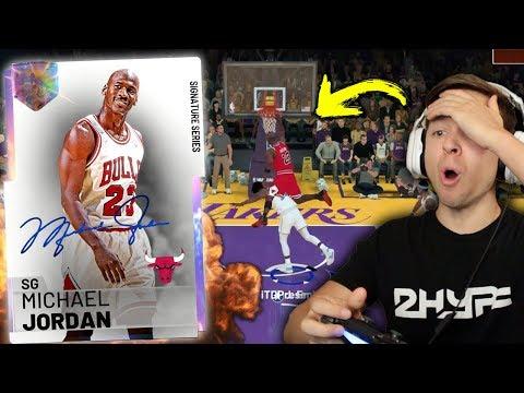 GALAXY OPAL MICHAEL JORDAN IS A GLITCH! DUNKING ON EVERYBODY! NBA 2K19 My Team