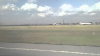 preview picture of video 'Landing at Jomo Kenyatta International Airport (NBO), Nairobi, Kenya'