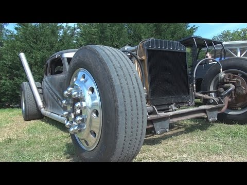 frankincar: David Kirk's Sick Detroit Diesel Rat Rod