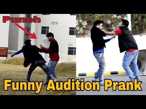 fack audition prank video