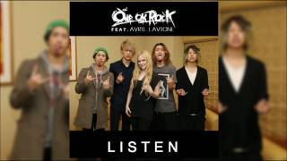 2017最新歌曲Avril Lavigne 回歸樂壇!〖Listen〗~ONE OK ROCK  Full Song