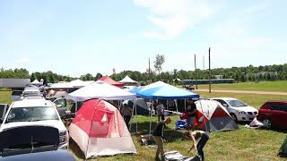 Electric Forest 2019 Attendees Set Up Camp