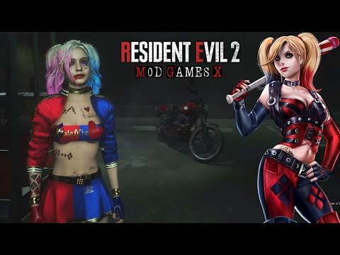 Gotham Trio Harley Quinn - RE2 MOD