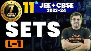 Sets L-1   Class 11 Maths   JEE+CBSE   Harsh Priyam Sir   Umang-XI   Vedantu Math