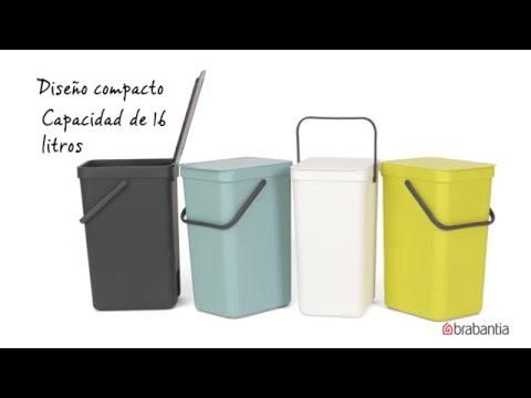 Brabantia - Recipientes para Desperdicios Sort & Go