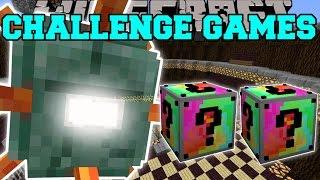 Minecraft TITANIC GUARDIAN CHALLENGE GAMES  Lucky Block Mod  Modded MiniGame