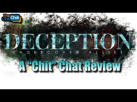 """Deception: Undercover Allies - A """"Chit"""" Chat Review"""