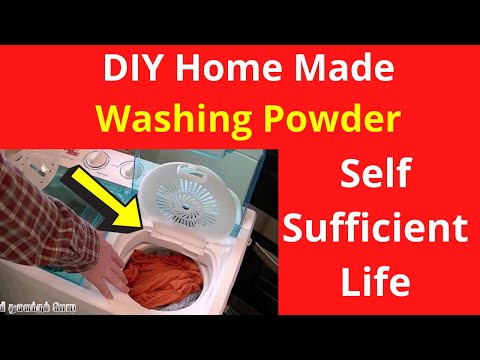 DIY Home Made - Nature Washing Powder | Self Sufficient Life