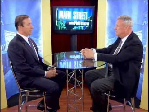 Phil Blazer interviews Adam Milstein on Main Street (Part 1)