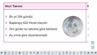 Eğitim Vadisi 9.Sınıf Tarih 2.Föy Zamanın Taksimi Konu Anlatım Videoları
