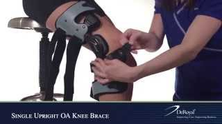 Video: DeRoyal OA Single Upright Arthritis Knee Brace