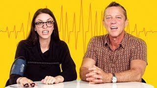 Daughter Takes a Lie Detector Test with Her Dad | Fess Up | Cut