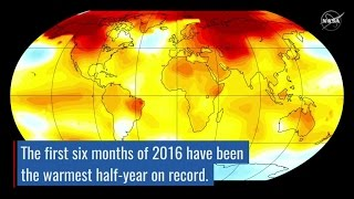 NASA Sees Temperatures Rise and Sea Ice Shrink - Climate Trends 2016