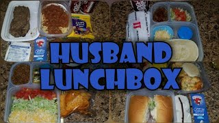 🥡 WHAT'S IN MY HUSBAND'S LUNCHBOX? 🥩| 🥙ALL COLD LUNCH IDEAS🥗