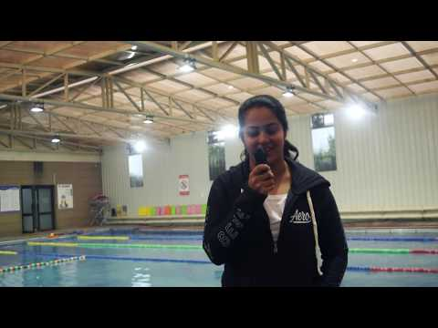 Why do National Swimmers from Delhi?