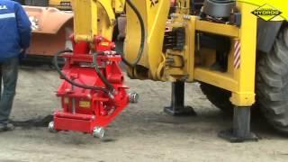 Frezarka Hydrauliczna Hydrog FA-300 Do Koparko-ładowarki