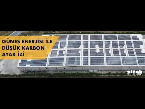 Altek Metal - Solar Paneller ile sürüdürülebilir düşük karbonlu alüminyum servis merkezi