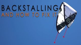 #3 Kiteboarding Intermediate – How to fix backstalling