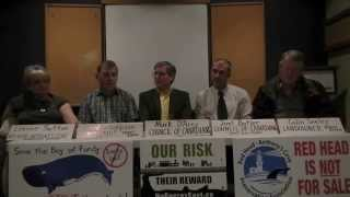 Groups call on City of Saint John to conduct emergency planning for tar sands pipeline, Nov. 4, 2015