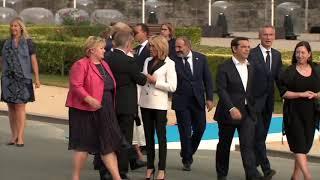 Jean-Claude Juncker Drunken at NATO summit 2018