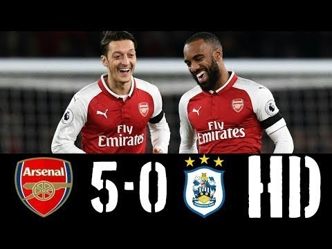 Arsenal vs Huddersfield 5 0   All Goals & Highlights   29112017