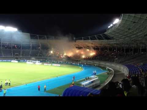 """""""Deportivo Pereira vs America"""" Barra: Lobo Sur • Club: Pereira"""