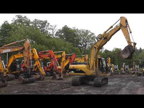 Caterpillar 318 C|JCB JS145W JS130 KOMATSU PC130 CAT LIEBHERR HITACHI 311 312 VOLVO 140