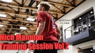 Nico Mannion Spring Break Training Session with Vaughn Compton