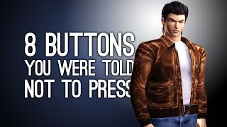 8 Buttons You Were Told Not to Press and Then You Pressed Them, Dummy