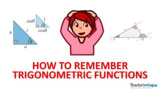 HOW TO REMEMBER TRIGONOMETRIC FUNCTIONS
