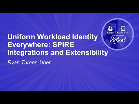 Image thumbnail for talk Uniform Workload Identity Everywhere: SPIRE Integrations and Extensibility