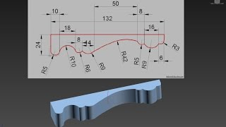 3dsMax уроки на русском 72 (моделирование по чертежам, Weight, Crease)