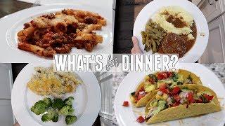 WHAT'S FOR DINNER? | DINNER MEAL IDEAS| DINNER RECIPES