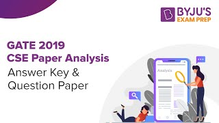 GATE 2019 CSE Paper Analysis: Answer Key & Question Paper