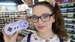 ASMR 90's Video Game Store Roleplay