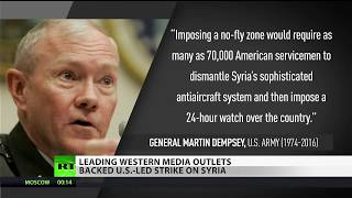 Leading Western news outlets supported Syria strikes