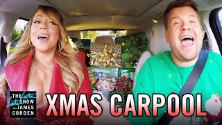 Christmas ECards James caps off 2016 with a Christmas edition of Carpool Karaoke featuring Mariah Carey Adele