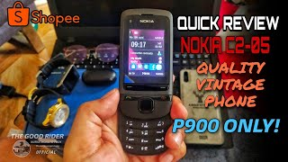 NOKIA C2-05 REVIEW THE ALL VINTAGE PHONE   UNBOXING NOKIA 2020   SHOPPEE, ONLINE STORE
