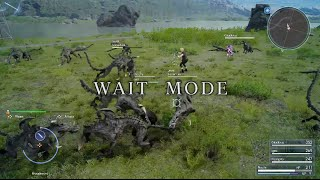 Gameplay modalità Wait Mode