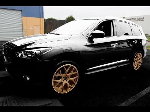 Gianelle Puerto 22x9 Wheels on a 2013 Infiniti JX35/QX60