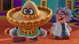 Super Mario Odyssey - All Hat-and-Seek Challenges