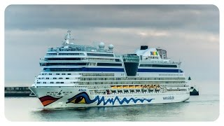 preview picture of video 'AIDA Treffen - AIDAstella AIDAsol Le Havre Frankreich 02.09.2014 Teil 1 - cruise ship • barnimsven'